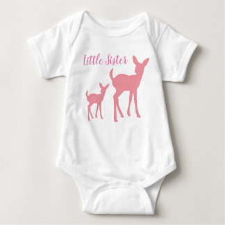 Little Sister Vest Baby Bodysuit