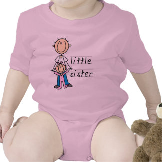 Little Sister with Big Brother T-shirts and Gifts