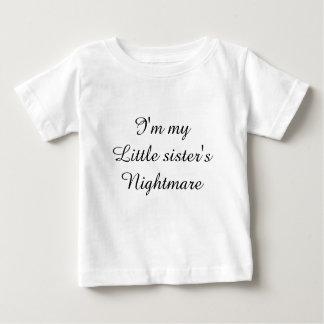 Little sister's nightmare t-shirt