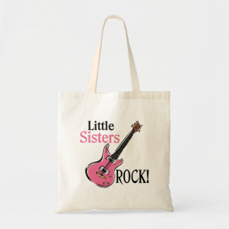 Little Sisters Rock Budget Tote Bag