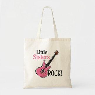 Little Sisters Rock Canvas Bags