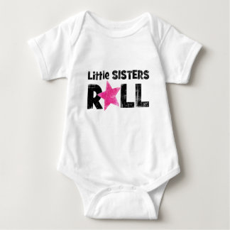 Little Sisters Roll Baby Bodysuit