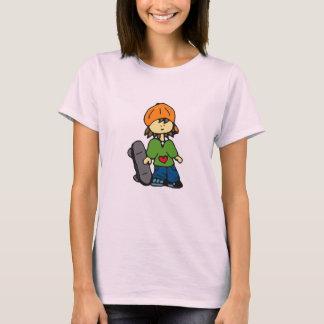 Little Skater Girl #3 T-Shirt