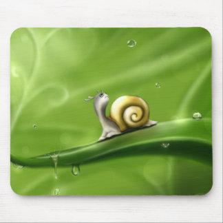 little snail mouse mat