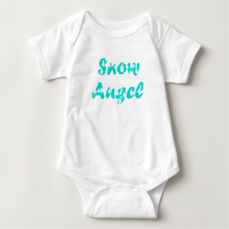 Little Snow Angel Baby Bodysuit