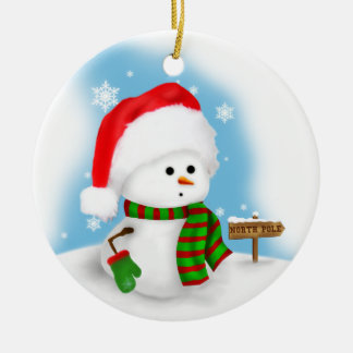 Little Snowman Ornament