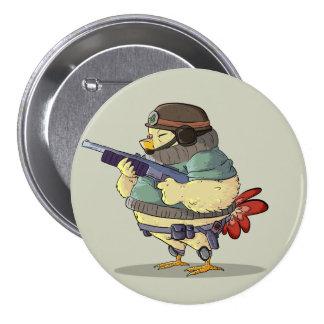 Little Soldier 7.5 Cm Round Badge
