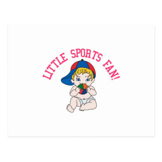 Little Sports Fan! Postcard