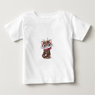 Little spotted kitten baby T-Shirt