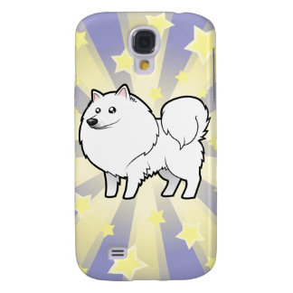 Little Star American Eskimo Dog / German Spitz Galaxy S4 Case