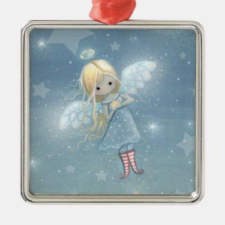 Little Star Angel Christmas Ornament