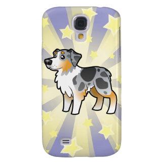 Little Star Australian Shepherd Galaxy S4 Case
