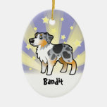 Little Star Australian Shepherd Ornaments