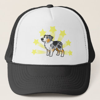 Little Star Australian Shepherd Trucker Hat