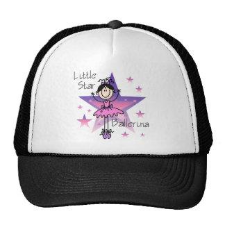 Little Star Ballerina-Black Hair Cap