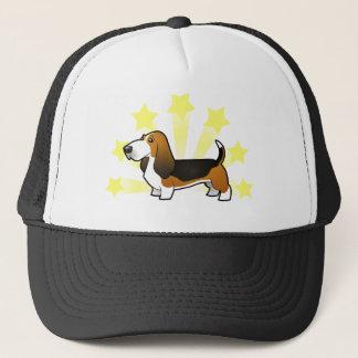 Little Star Basset Hound Trucker Hat