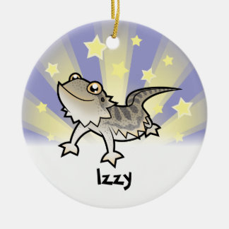 Little Star Bearded Dragon / Rankins Dragon Christmas Ornament