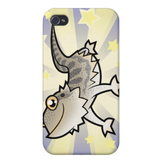 Little Star Bearded Dragon / Rankins Dragon iPhone 4/4S Cover