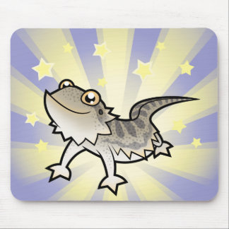 Little Star Bearded Dragon Rankins Dragon Mouse Pads