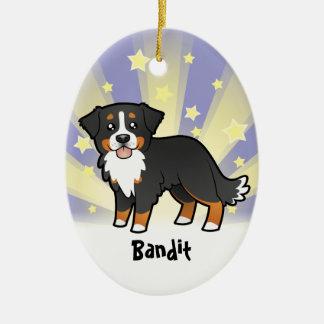 Little Star Bernese Mountain Dog Christmas Ornament