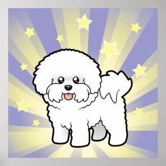 Little Star Bichon Frise Poster