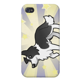 Little Star Border Collie iPhone 4/4S Cases