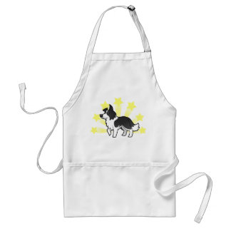 Little Star Border Collie Standard Apron