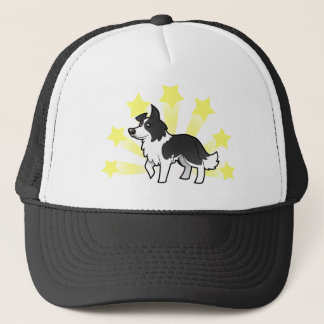 Little Star Border Collie Trucker Hat