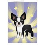Little Star Boston Terrier Cards
