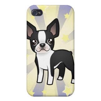 Little Star Boston Terrier Case For iPhone 4