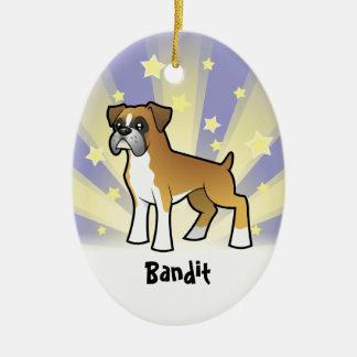 Little Star Boxer Christmas Ornament