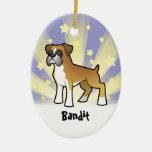 Little Star Boxer Ornament