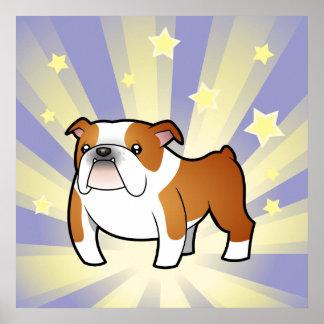 Little Star Bulldog Poster