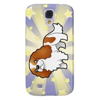 Little Star Cartoon Cavalier King Charles Spaniel Galaxy S4 Case