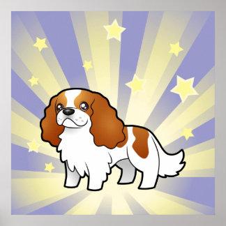 Little Star Cavalier King Charles Spaniel Poster