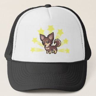 Little Star Chihuahua (long coat) Trucker Hat