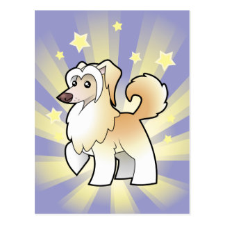 Little Star Chinese Crested (powderpuff) Postcard