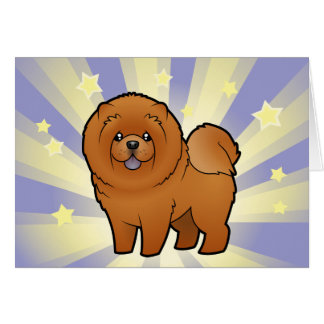 Little Star Chow Chow Card