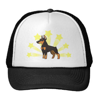 Little Star Doberman Pinscher (pointy ears) Cap