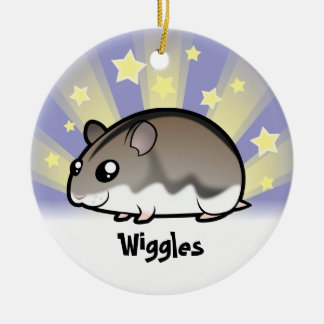 Little Star Dwarf Hamster Christmas Ornament