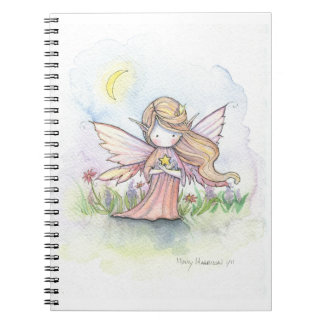 Little Star Fairy Whimsical Art Notebook