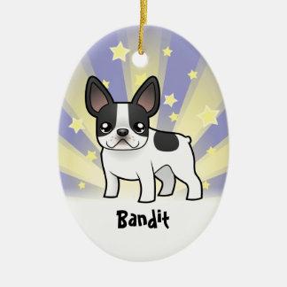 Little Star French Bulldog Christmas Ornament