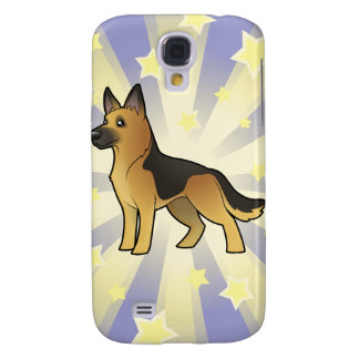 Little Star German Shepherd Galaxy S4 Case