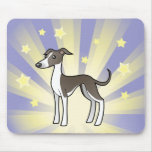 Little Star Greyhound/Whippet/Italian Greyhound Mouse Pad