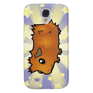 Little Star Guinea Pig (scruffy) Galaxy S4 Case