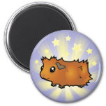 Little Star Guinea Pig (scruffy) Refrigerator Magnet