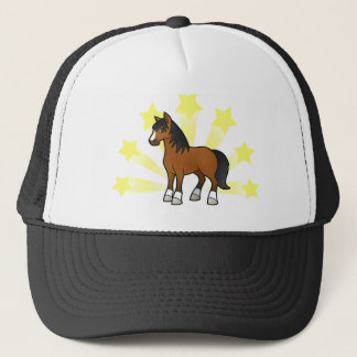 Little Star Horse Trucker Hat