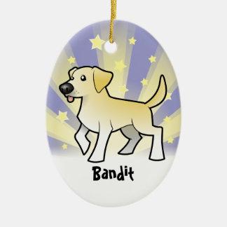 Little Star Labrador Retriever Christmas Ornament