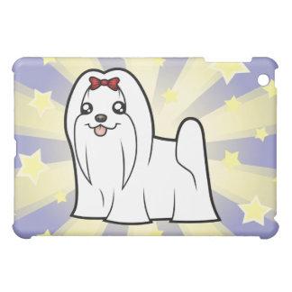 Little Star Maltese (show cut) iPad Mini Cover