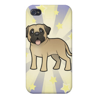 Little Star Mastiff / Bullmastiff iPhone 4/4S Case